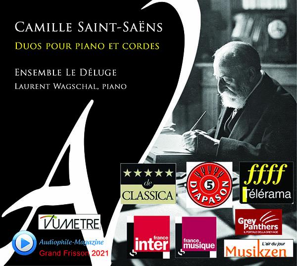 Camille Saint-Saëns | Duos pour piano et cordes | Ensemble Le Déluge
